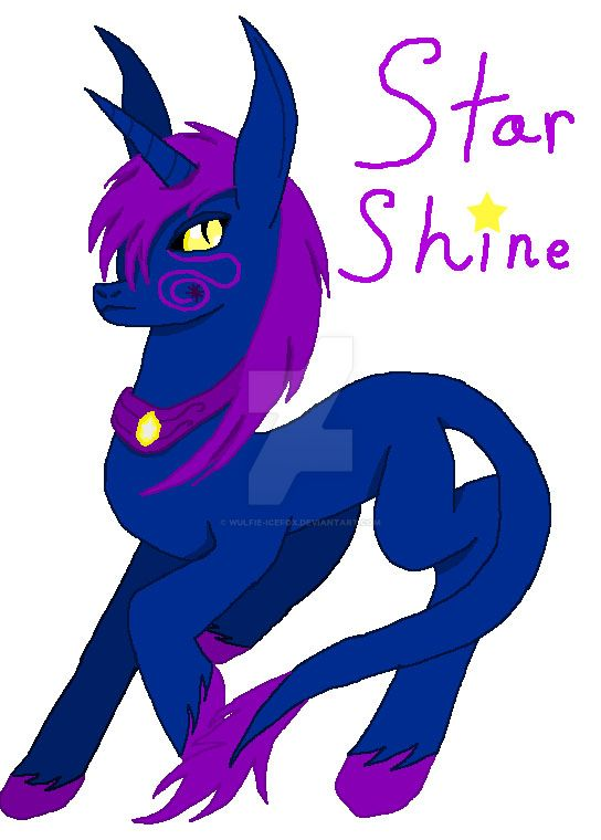 Star Shine by Wulfie-IceFox