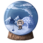 Pixel Eskimo by indig0raven