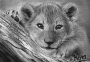 little lionking - simba by kimngan