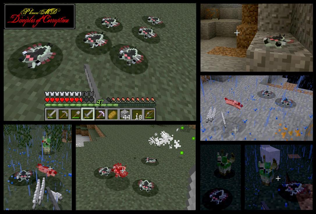 Minecraft Anorith Mob v-1.0.0 by FuzzyAcornIndustries
