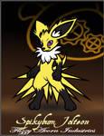 Spikybum Jolteon - Fuzzy Acorn Industries DevID