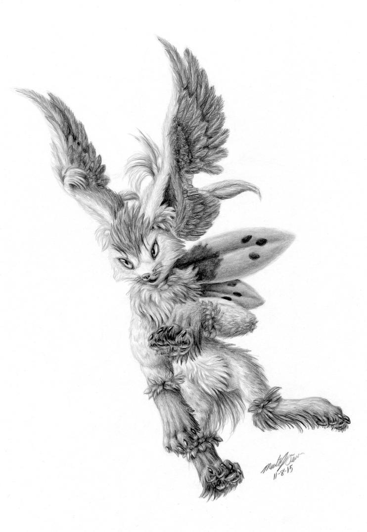 Hermes Skymin by FuzzyAcornIndustries