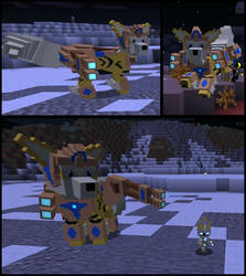 Minecraft: Immortal Arcanine