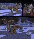 Minecraft: Immortal Arcanine by FuzzyAcornIndustries