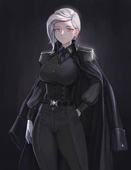 Aryana, general of the holy Jaeger order