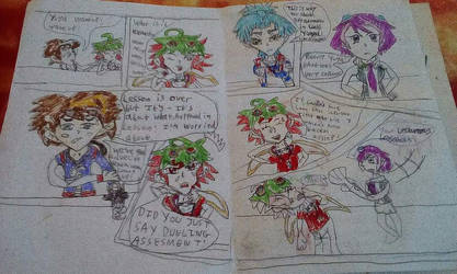 Beta comic Yu-Gi-Oh ArcV