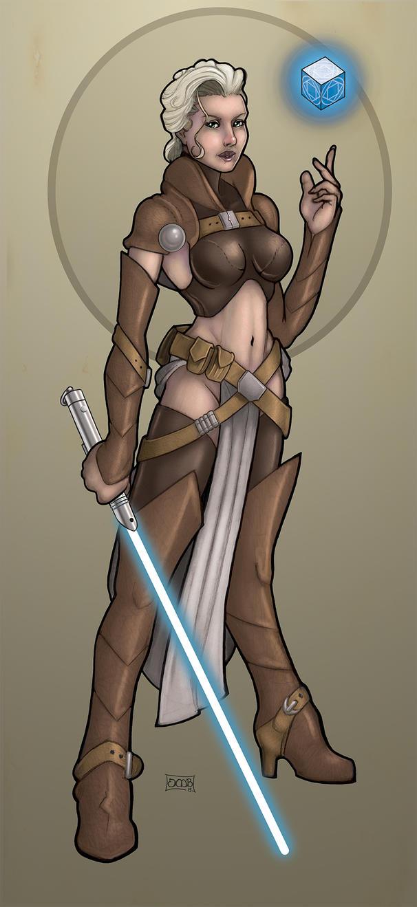 Allurian - Jedi Knight by Dunlaoch
