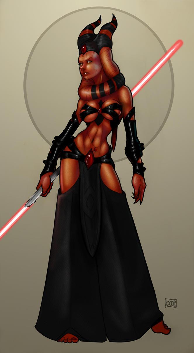 Lady Arnriel - Togruta Sith Assassin by Dunlaoch