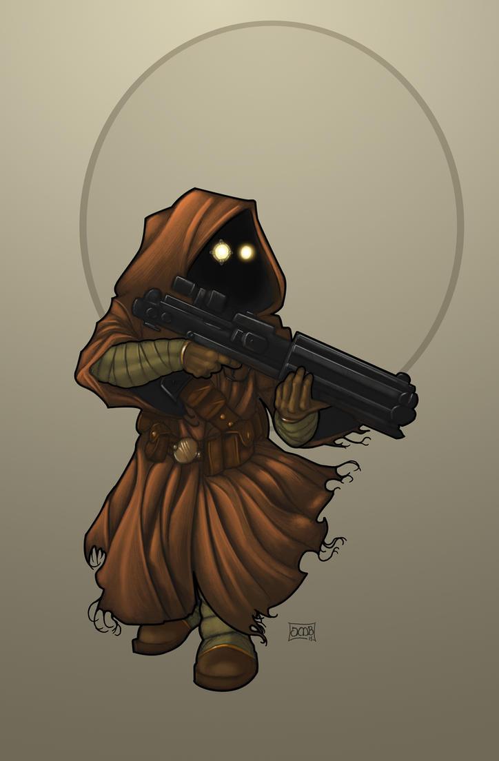 Intini 'The Butcher': Jawa Mercenary by Dunlaoch