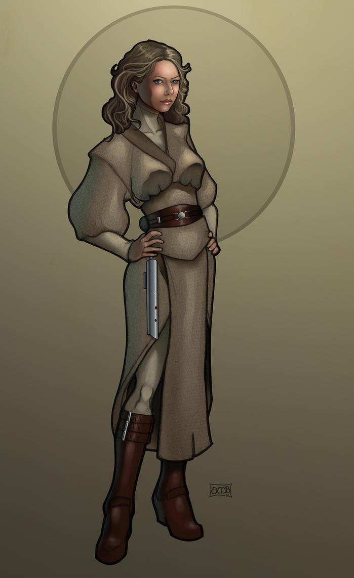 Riella- Jedi Consular by Dunlaoch