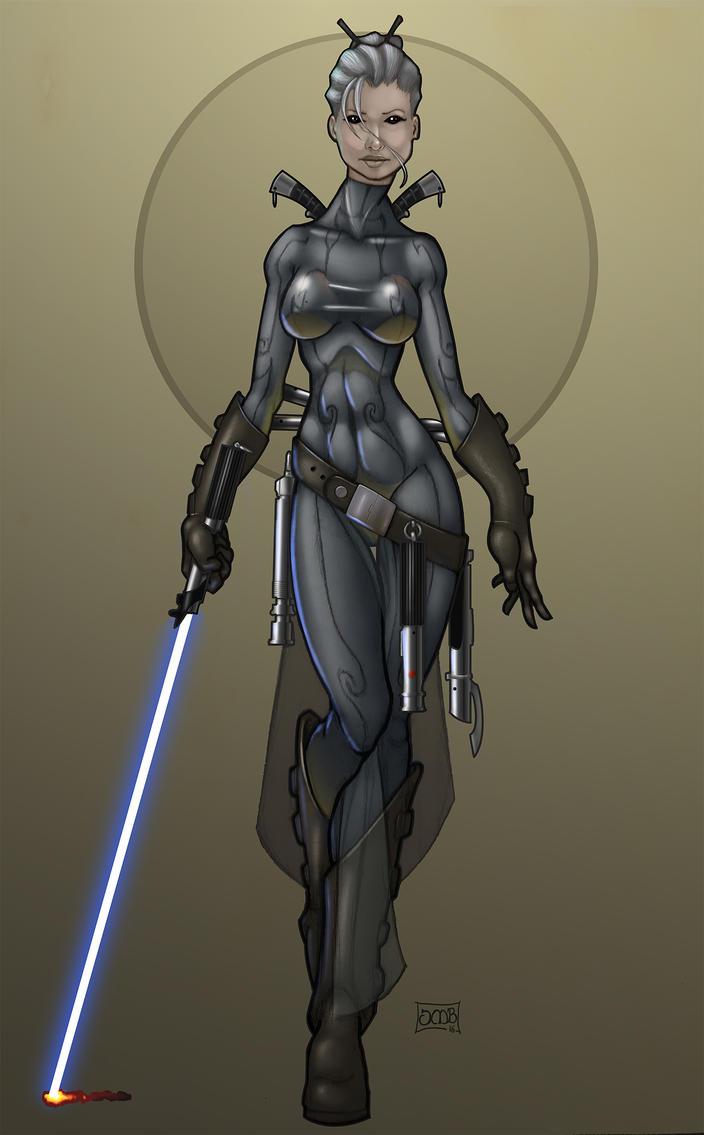 Allana- Jedi Sentinel by Dunlaoch