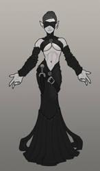 Lady Lanfiel- Elven Sorceress