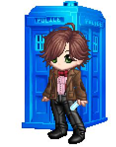 The 11th Doctor by Lindsey-Cullen1