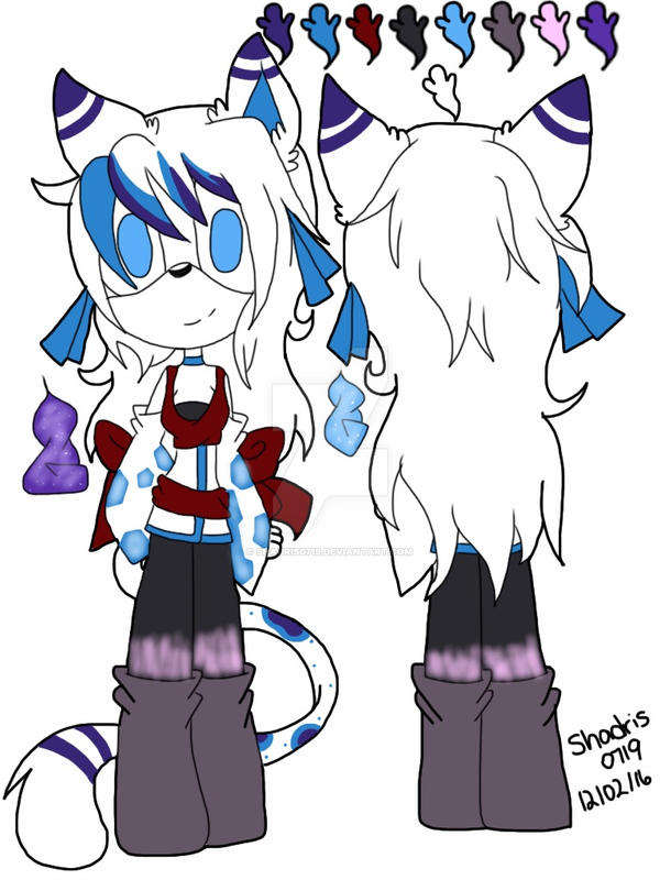Kasida The Cat Reference 2017 by Shadris0719