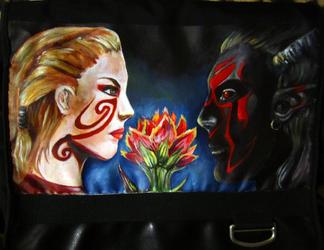 Sanguine Rose by Heldeil