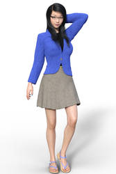 Giselle Sakamoto (Model) by Red-Neptune
