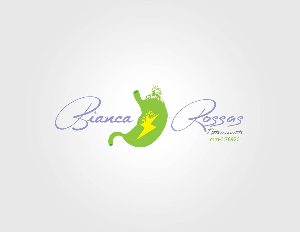logotipo Bianca Rossas Nutricionista - Op. 02 by williamsoares