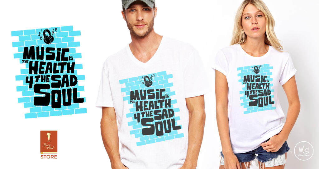 Stamp - Music is the health 4 the sad soul by williamsoares