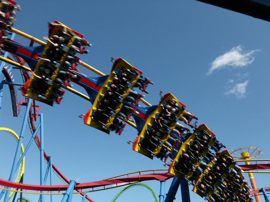 Superman Roller Coaster by RustyFanatic05 on DeviantArt