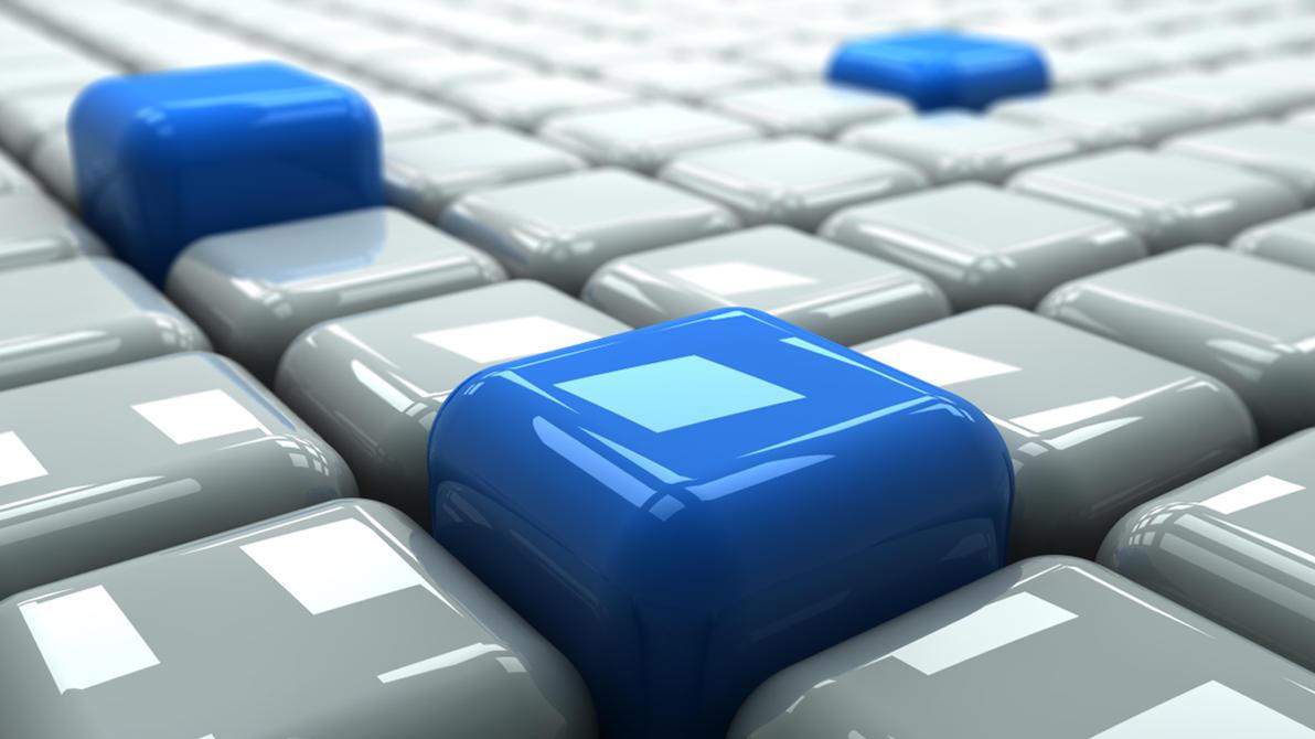 Blue Cubes by JBenit94