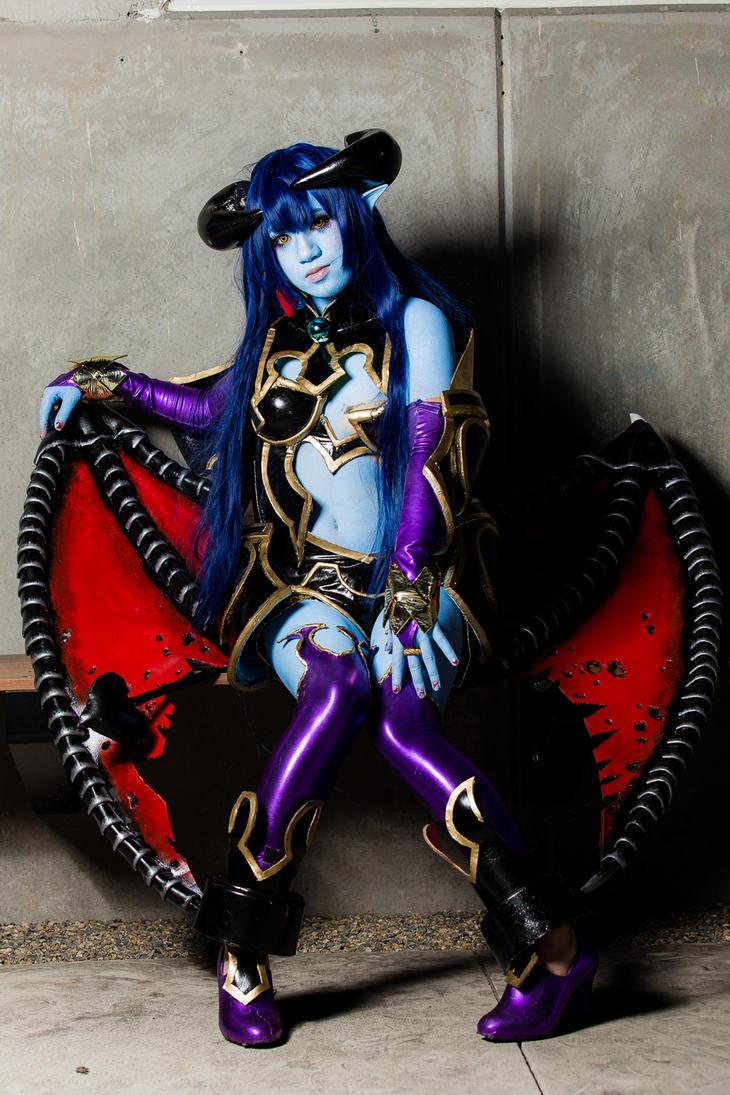 Astaroth sitting and waiting by AoiKatori