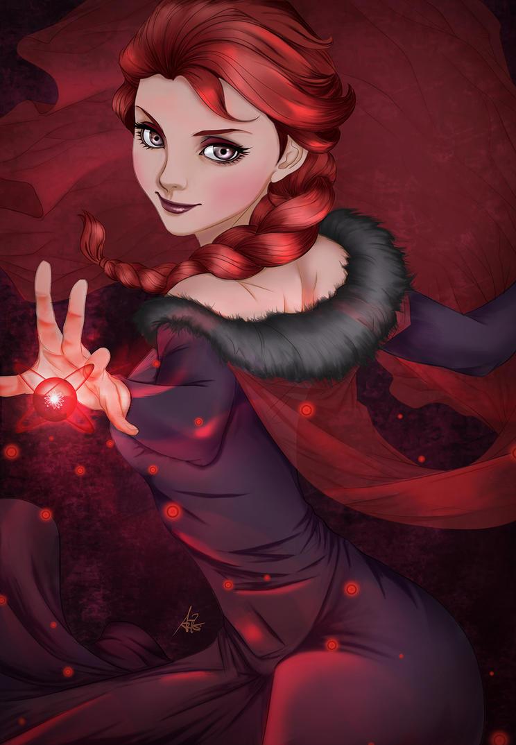 Fanart Elsa by vionixscorpion