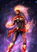 Captain Marvel by vionixsc