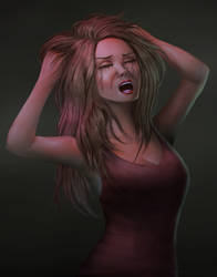 Crying Alone by vionixsc