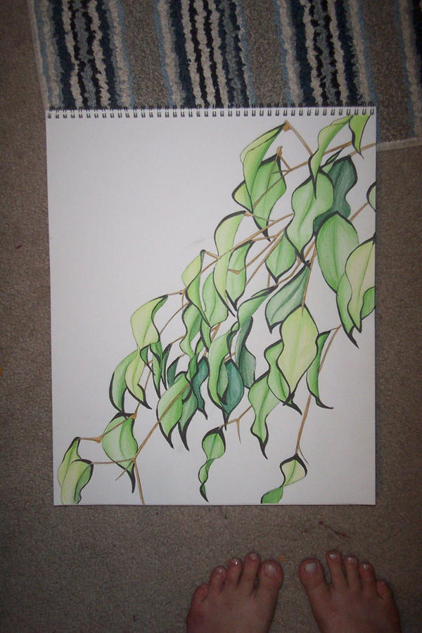 Leaves lol by Vyntresser