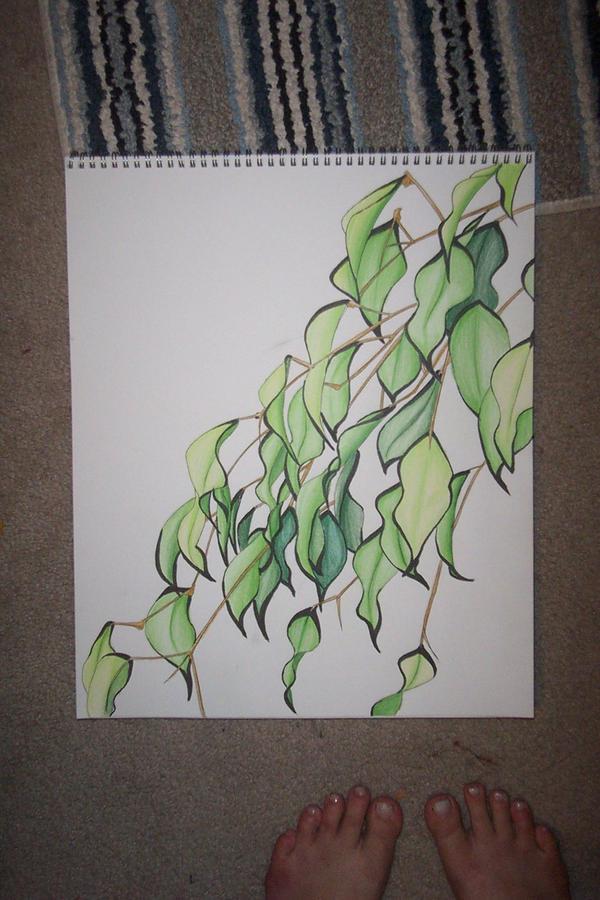 Leaves lol by Vyntresser