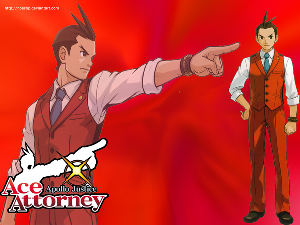 Wallpaper Apollo Justice by Noeyop