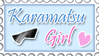 Karamatsu Girl Stamp by PanTran