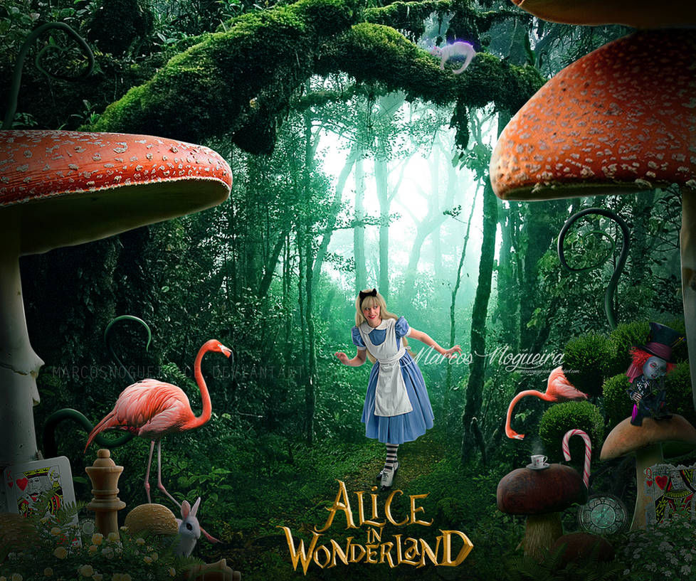 Alice in Wonderland by marcosnogueiracb