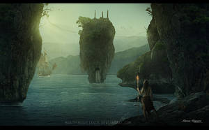 The lost island by marcosnogueiracb