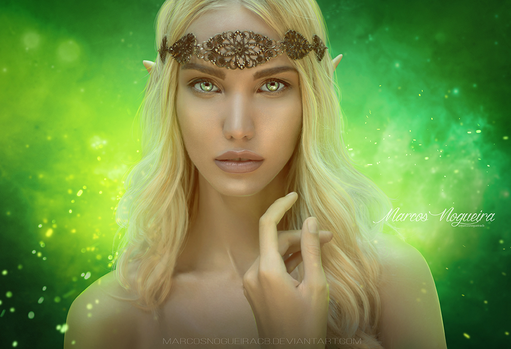 Galadriel by marcosnogueiracb
