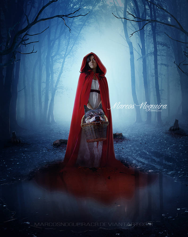 Red Riding Hood III by marcosnogueiracb