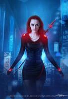 Cyberpunk Warrior by marcosnogueiracb