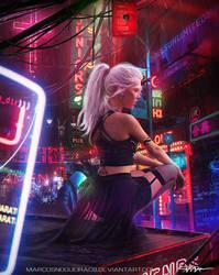 Cyberpunk X by marcosnogueiracb