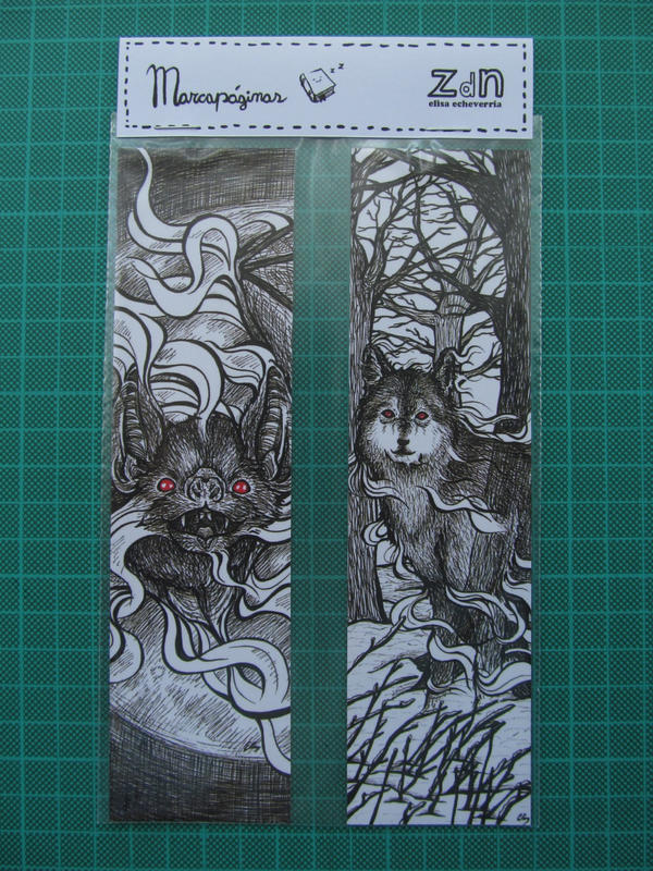 dracula bookmarks by elisa-ep