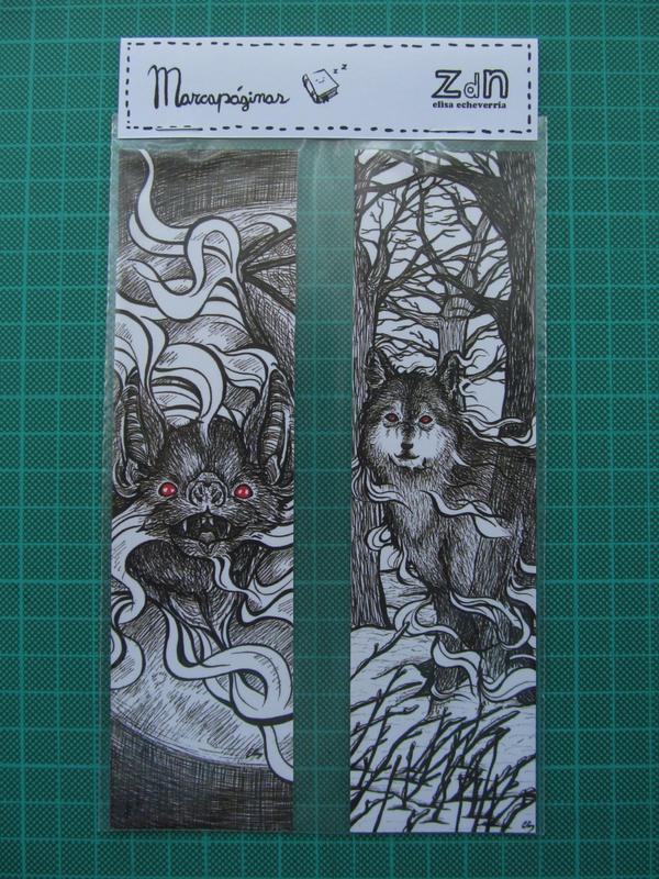 dracula bookmarks by elisa-ep
