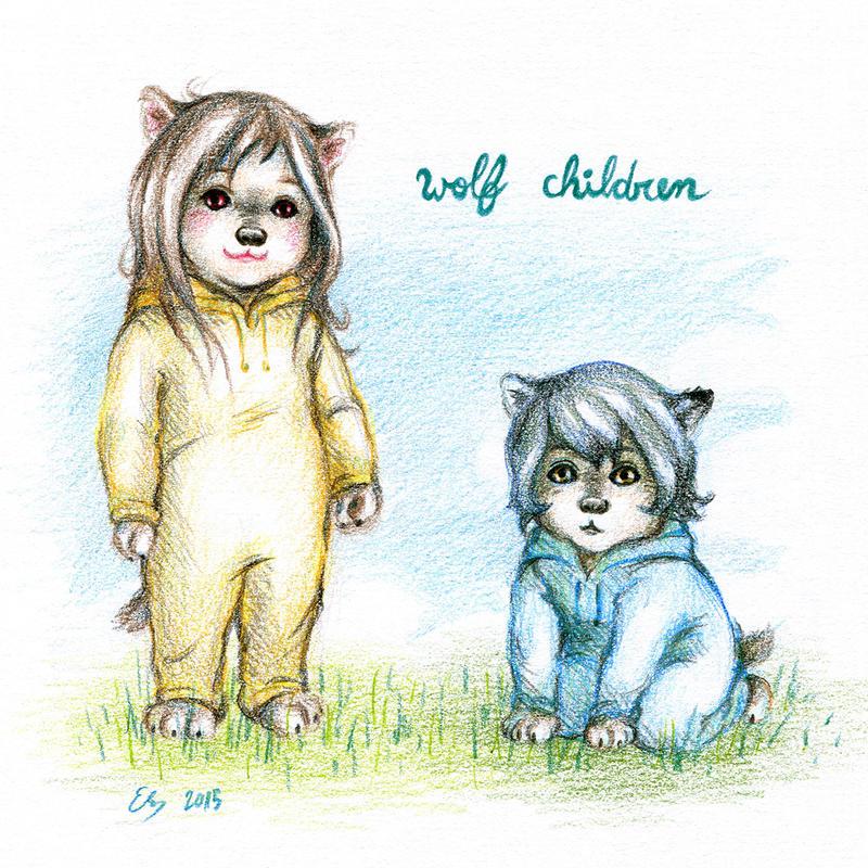 wolf children by elisa-ep