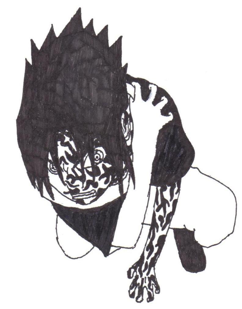 Curse mark sasuke by Dazuke-Sensei on DeviantArt