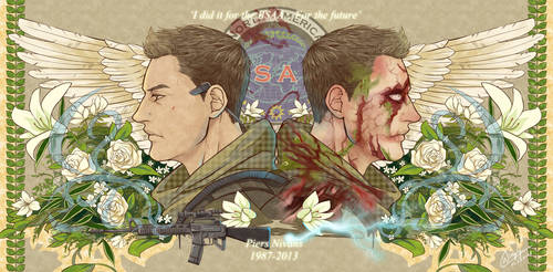 Resident Evil 6 - Tribute to Piers Nivans by WinglyC