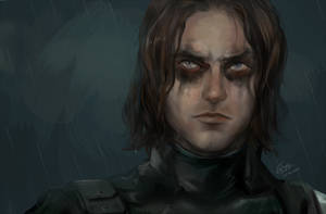 Captain America: The Winter Soldier by WinglyC