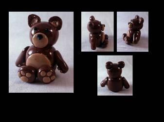Little Brown Teddy by AuroraStars