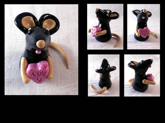 Valentines Mouse by AuroraStars
