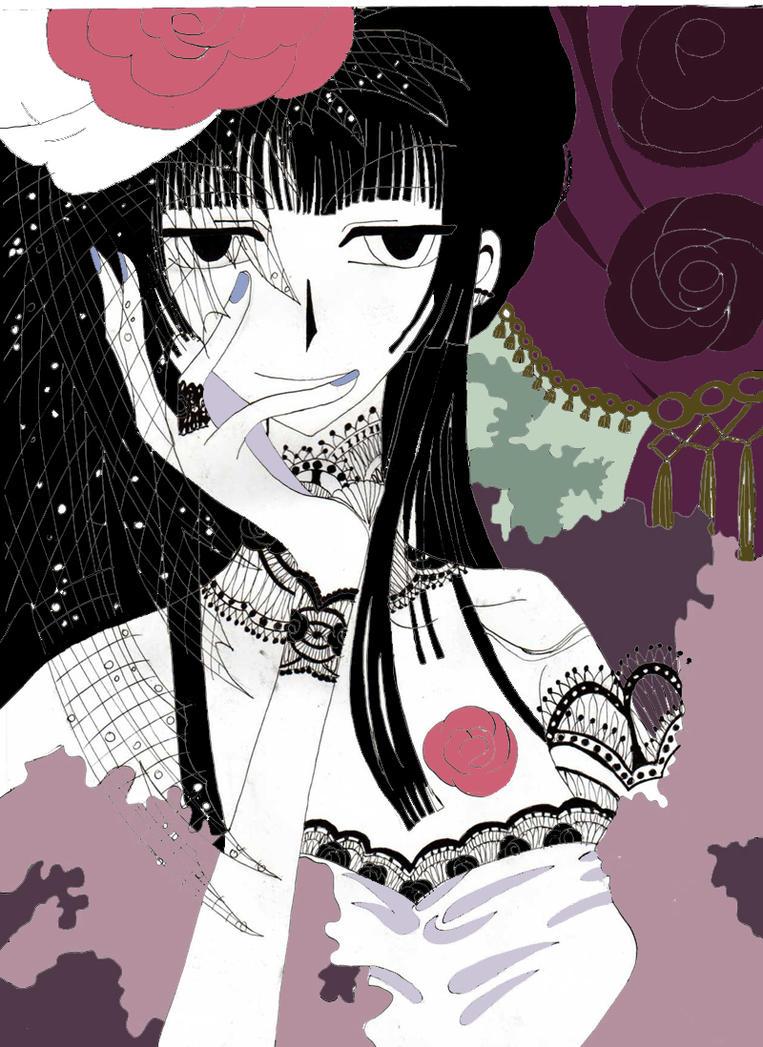 Yuuko Roses by CLAMP-xxxholic