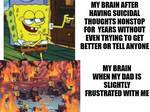 trauma be like