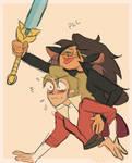 catra's got the sword