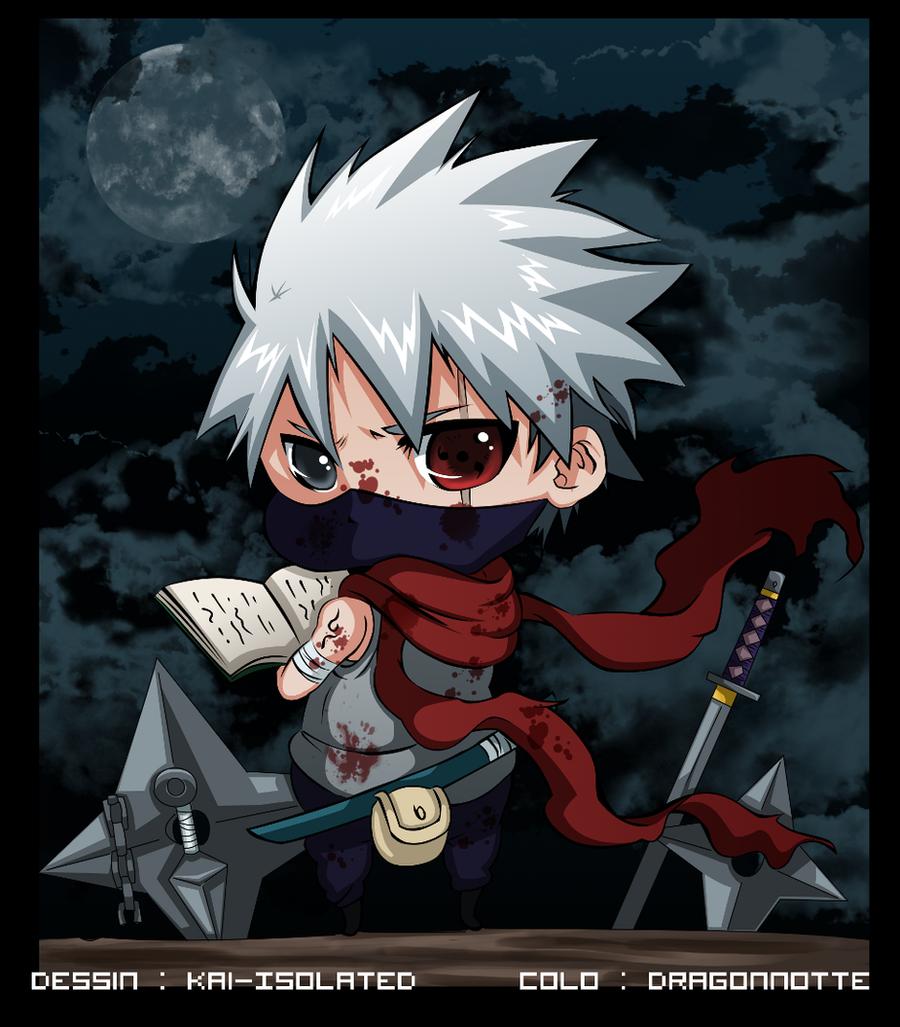 Wallpaper Kakashi Anime: Hatake Kakashi ANBU By Dragonnotte On DeviantArt